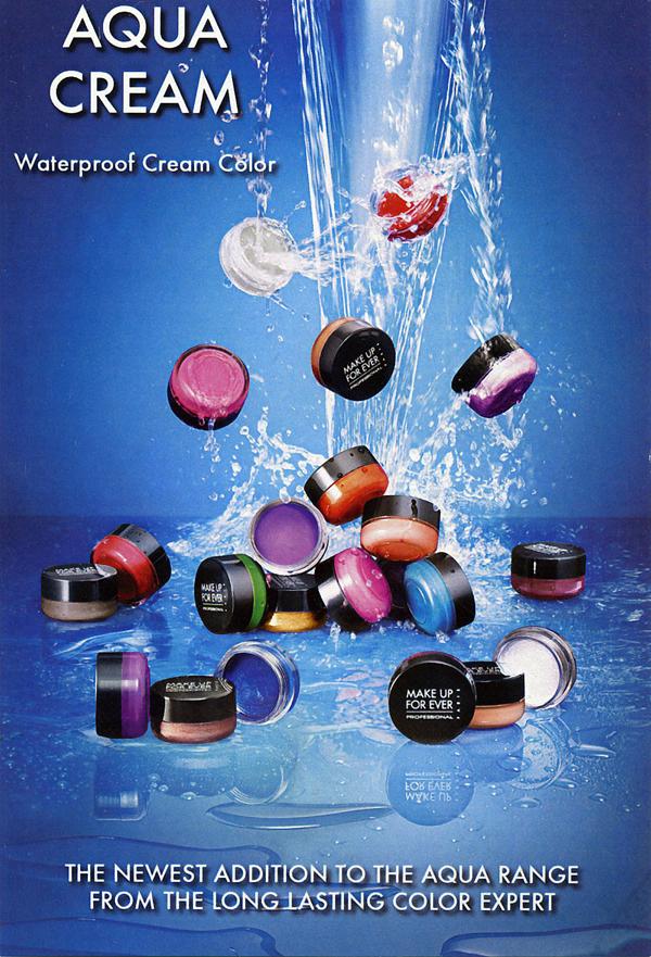 Make Up For Ever Aqua Cream Colors